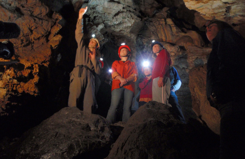 Cave near Ocean Trails Resort.