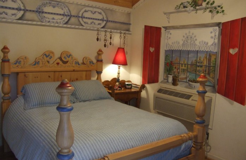 Dutch Bliss room at Black Forest Bed & Breakfast & Luxury Cabins.