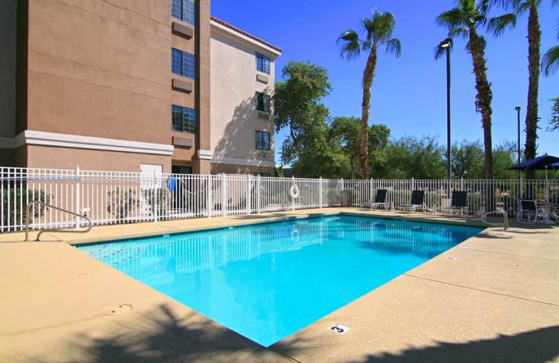 Outdoor pool at Comfort Inn Chandler - Phoenix South.