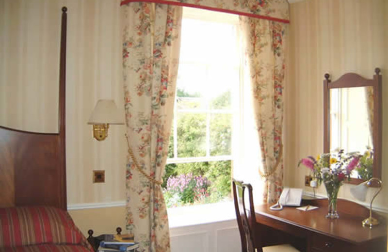 Guest room at Temple Sowerby Country House.