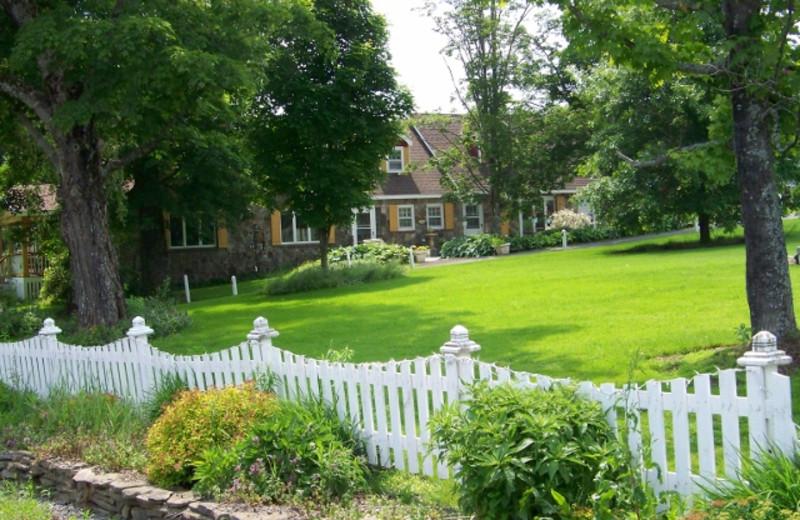 Exterior view of Fieldstone Farm.