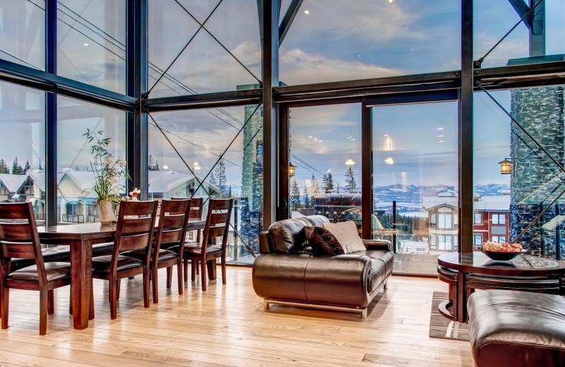 Stunning Living Room at RentChalets
