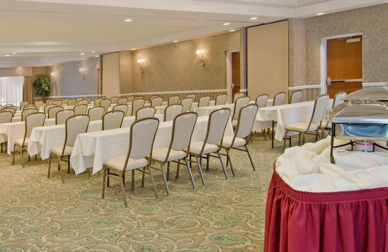 Conference room at The Best Western Abbey Inn Hotel.