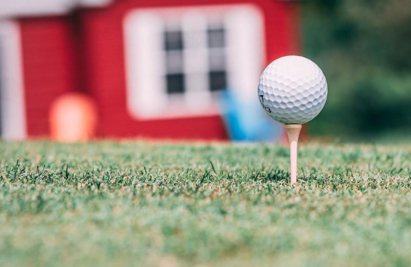 Golf at Great Blue Resorts.