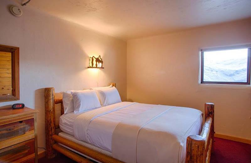 Guest bedroom at Grand Targhee Resort.