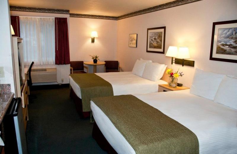 Guest room at The Garibaldi House Inn.
