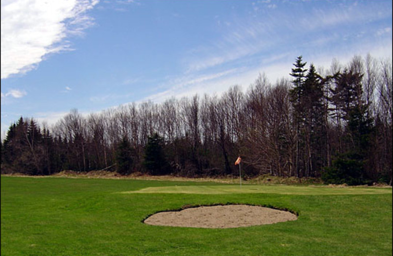 Golf course at Dhoon Lodge.