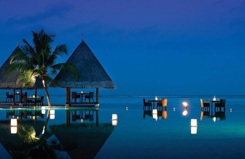 Exterior view of Four Seasons Resort - Maldives at Kuda Huraa.