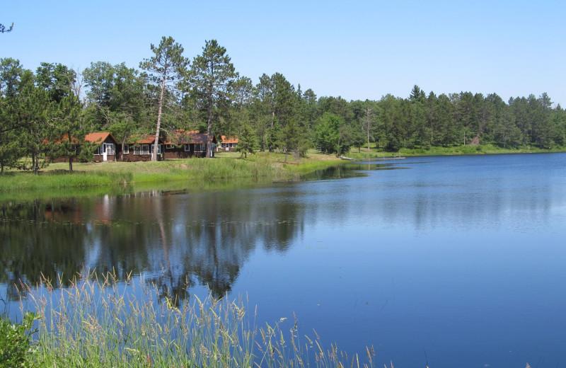 Cabins at Safari Whitetail Resort.