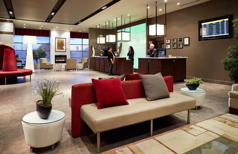 Lobby at Ruby Foo's.