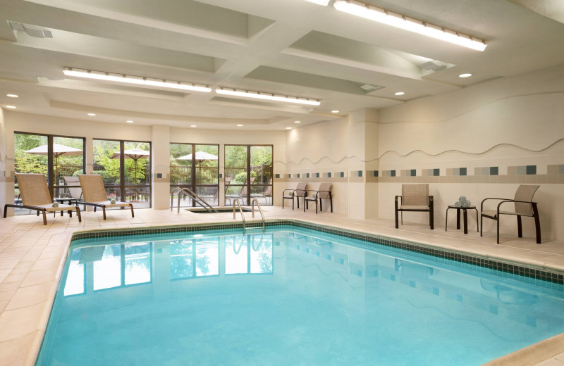 Indoor pool at Courtyard Middletown.