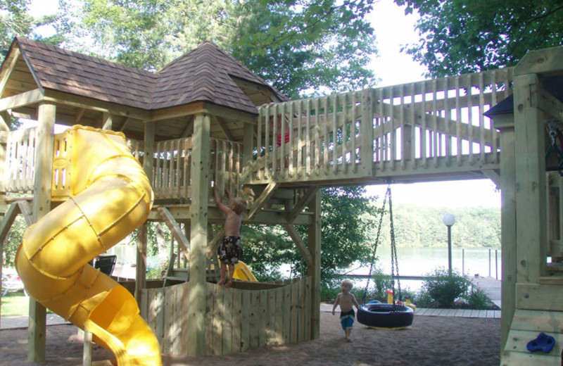 Playground at White Birch Village Resort.