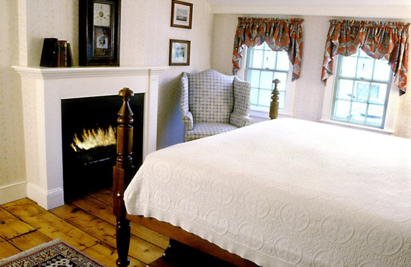 Guest room at Griswold Inn.