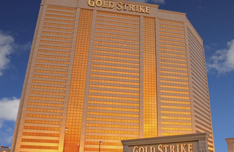 Exterior view of Gold Strike Casino & Resort.