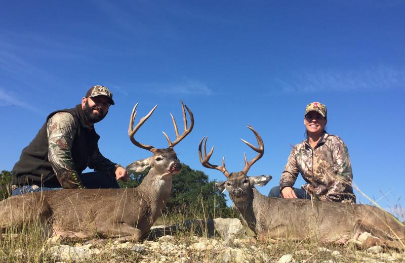 Deer hunting at Joshua Creek Ranch.