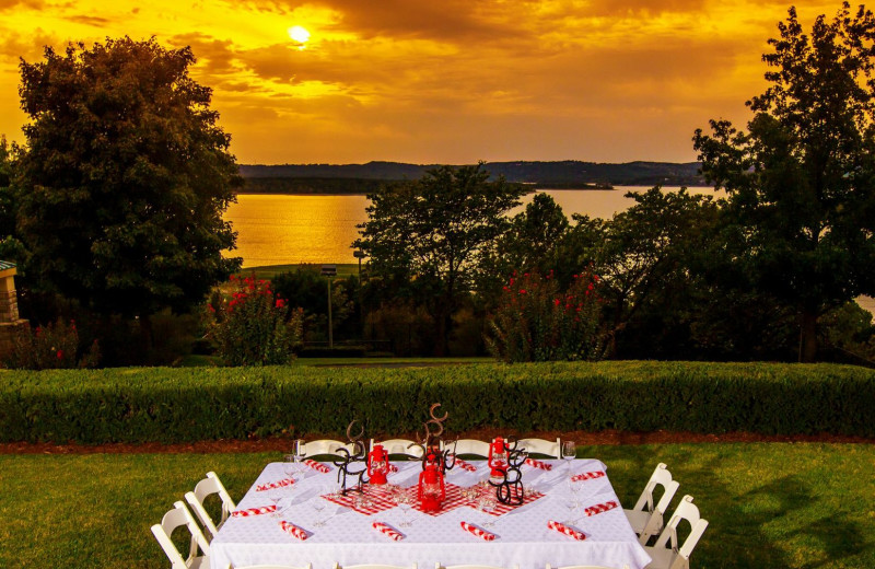 Wedding reception at Chateau on the Lake.