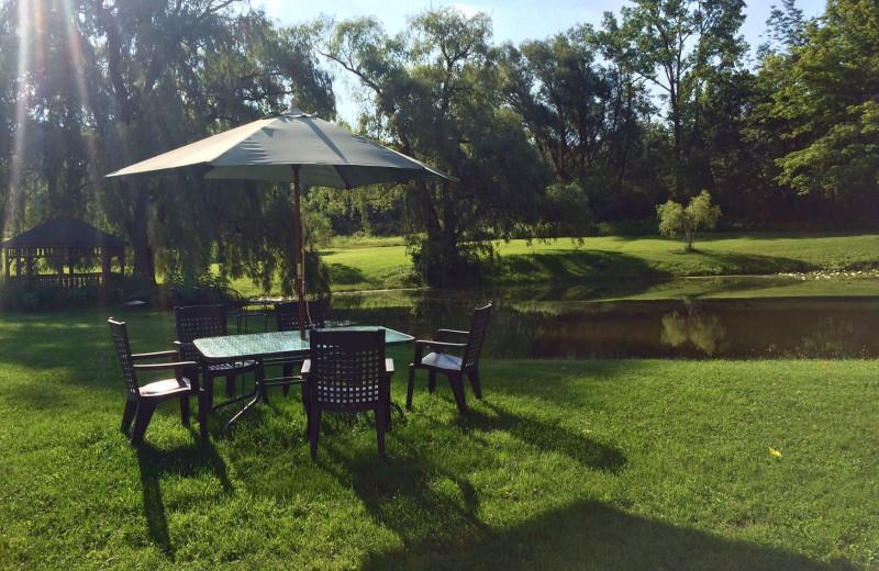 Grounds at La Tourelle Resort & Spa.