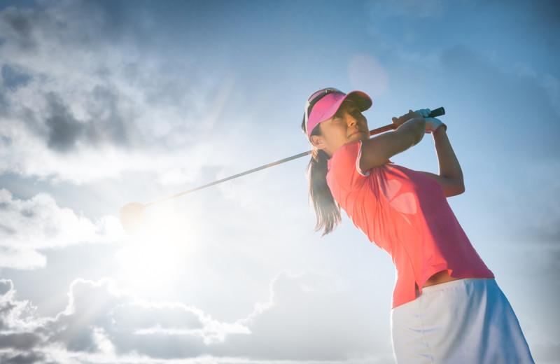 Golf at Bighorn Meadows Resort.