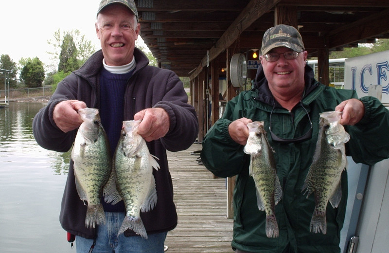 Fishing at Big Bear Resort.
