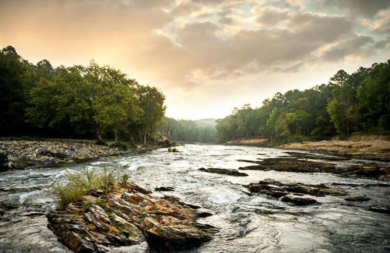 River at Hochatown Junction Resort.