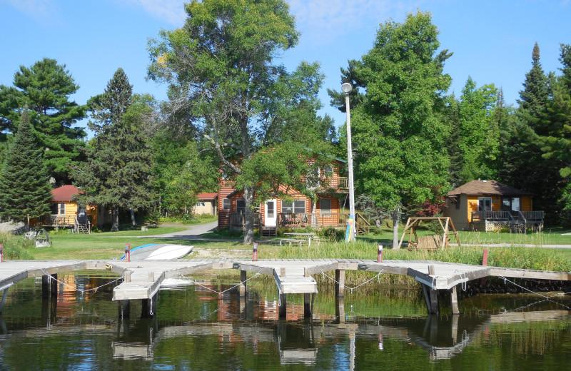 Exterior view of Moosehorn Resort.