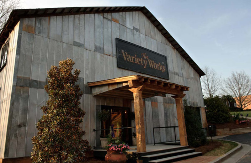 The Variety Works wedding venue near James Madison Inn.