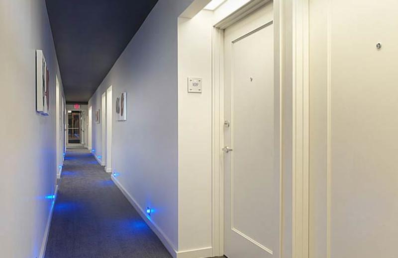 Interior Corridor at Hotel Keen