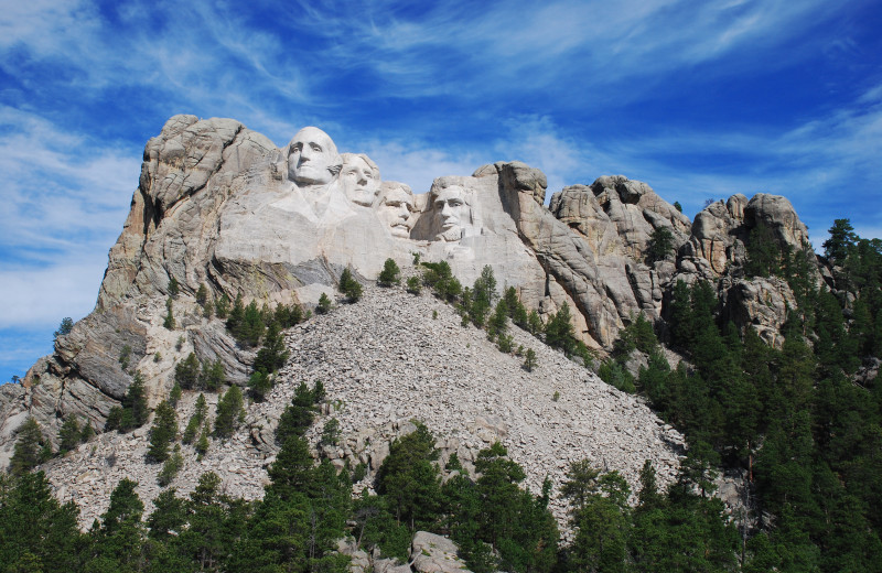 Mount Rushmore near The Lantern Inn.