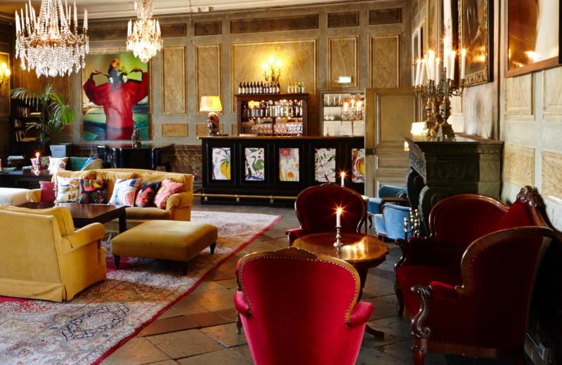 Lounge at Häringe Palace.