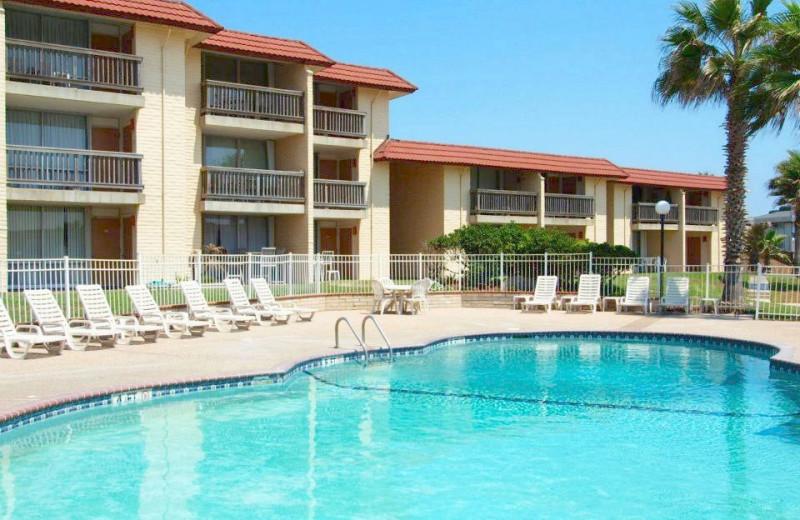Outdoor Pool at Coral Cay Condominiums