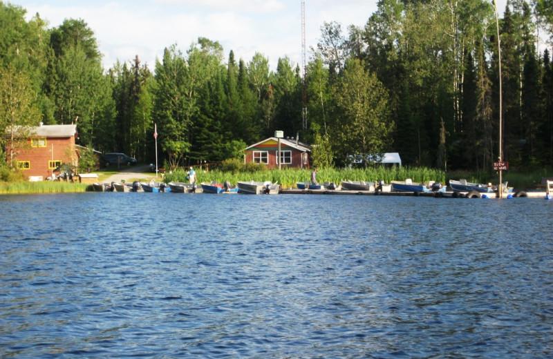 Lakeside Cabins at Woman River Camp