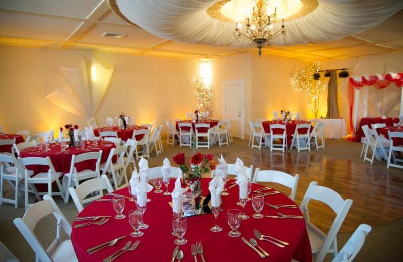 Wedding reception at Power's Mansion Inn.