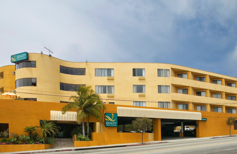 Exterior view of Quality Inn & Suites.
