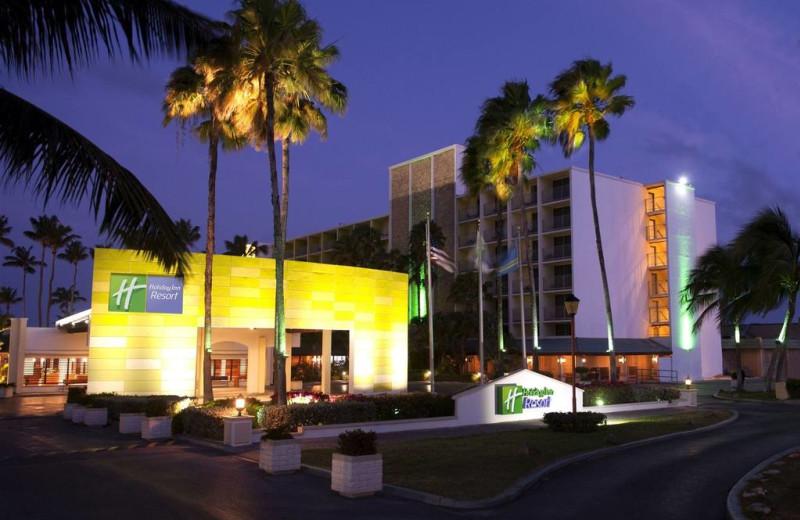 Exterior view of Holiday Inn SunSpree Resort Aruba - Beach Resort & Casino.