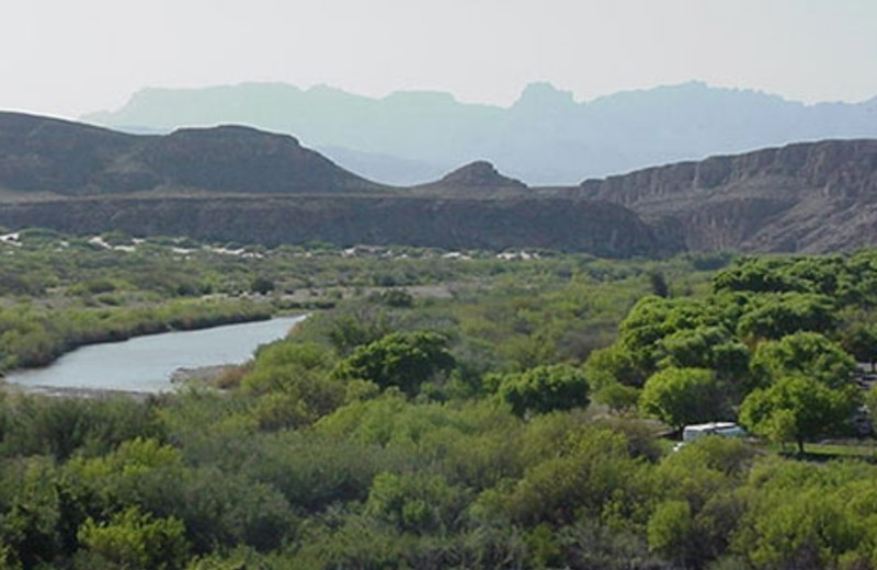 Mountain View Near Big Bend Overland Tours