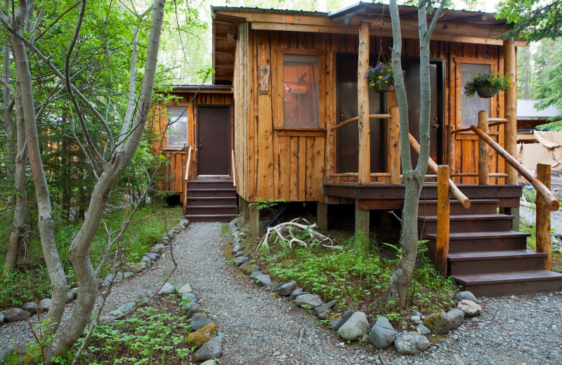 Cabins at Kenai Backcountry Lodge.
