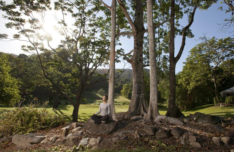 Exterior view of Camp Eden.