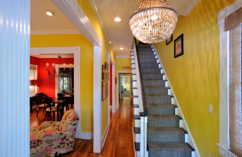 Rental stairs at Vacation Homes of Key West.