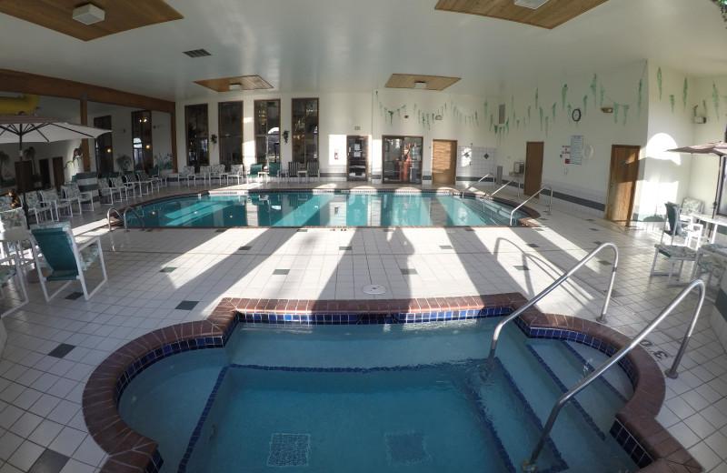 Indoor pool at Alakai Hotel & Suites.