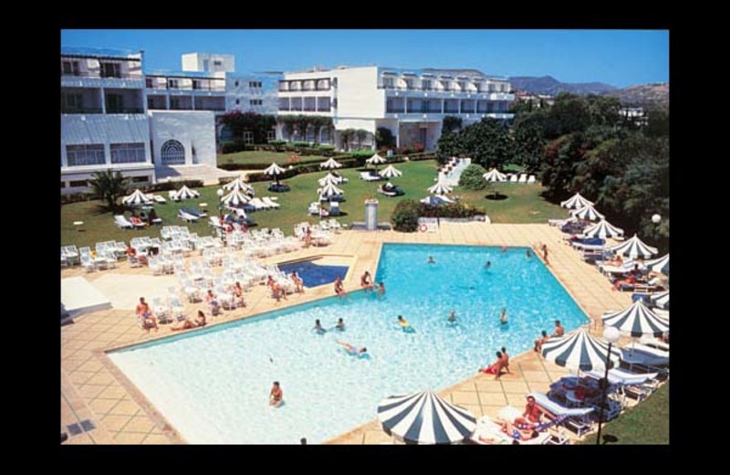 Outdoor pool at Abou Nawas Hammamet.