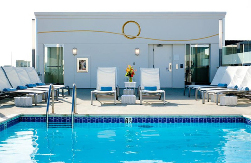 Guest pool at Carousel Inn and Suites.