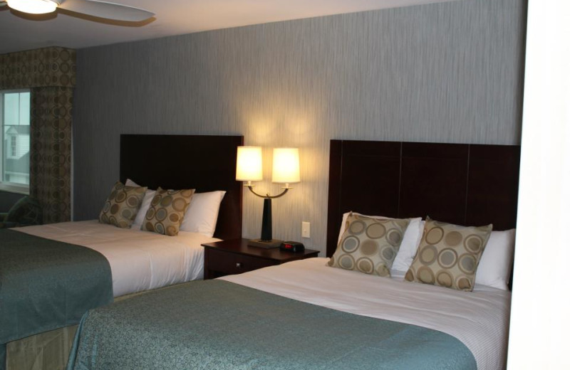Guest room at Atlantic Oceanside Hotel