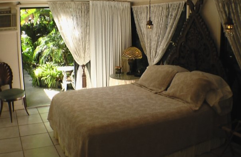 Guest room at Casa Thorn Bed & Breakfast.