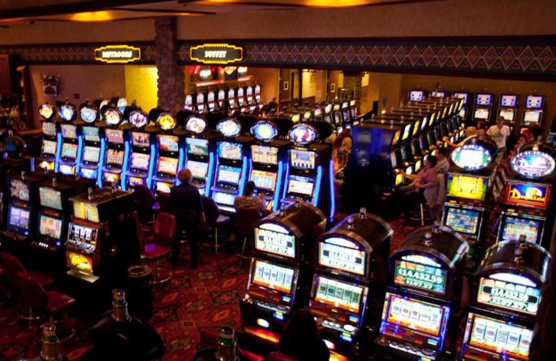 Casino at Prairie Knights Casino and Lodge.