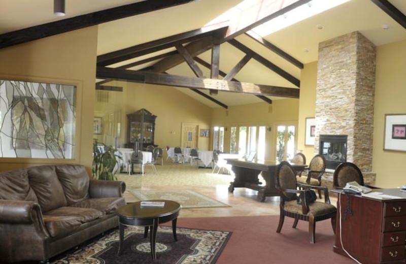 Lobby view at Tuscany Hills Resort.