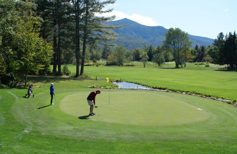 Golf at Black Bear Lodge.