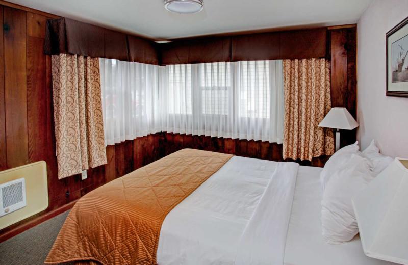 Guest room at Surfrider Resort.