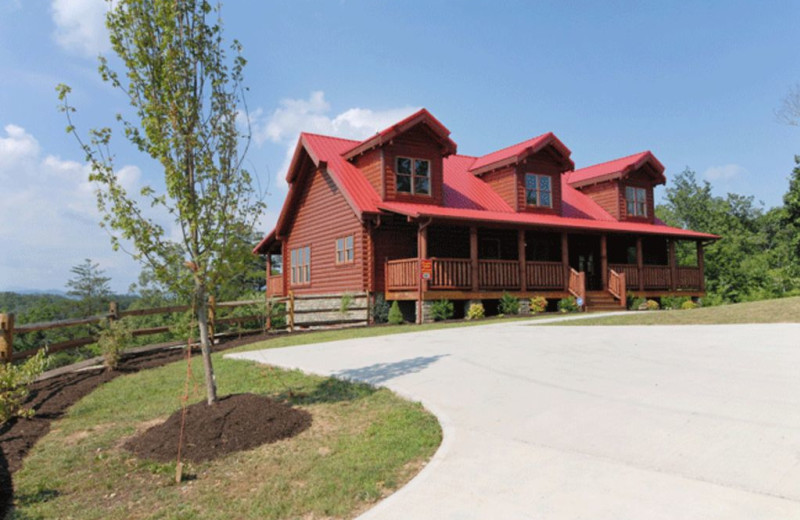Pigeon Forge Vacation Rentals Chalet A Cabin Of Dreams At