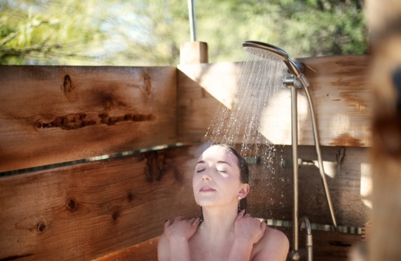 Spa Shower at Miraval