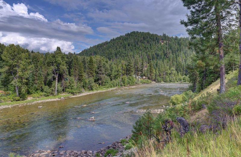 River view at Natapoc Lodging.